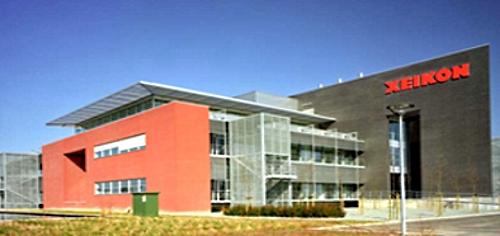 Завод по производству цифровых печатных машин Xeikon в городе Лир (Lier), Бельгия