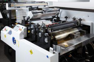 Машина для нанесения силикона и клей-расплава от канадского производителя ETI Converting Equipment