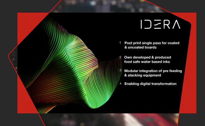 Xeikon запускает новую платформу Idera - оборудование для печати по гофрокартону