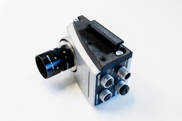 Balluff использует 3D принтер от 3DGence для 3D печати кронштейнов для крепления систем технического зрения