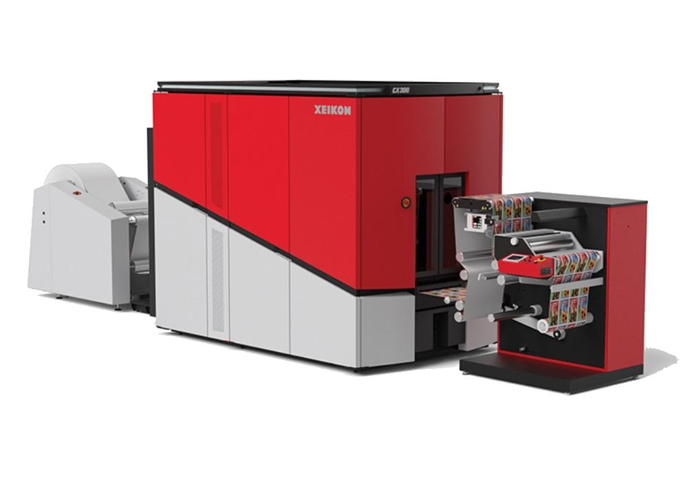 Цифровая печатная машина Xeikon CX300