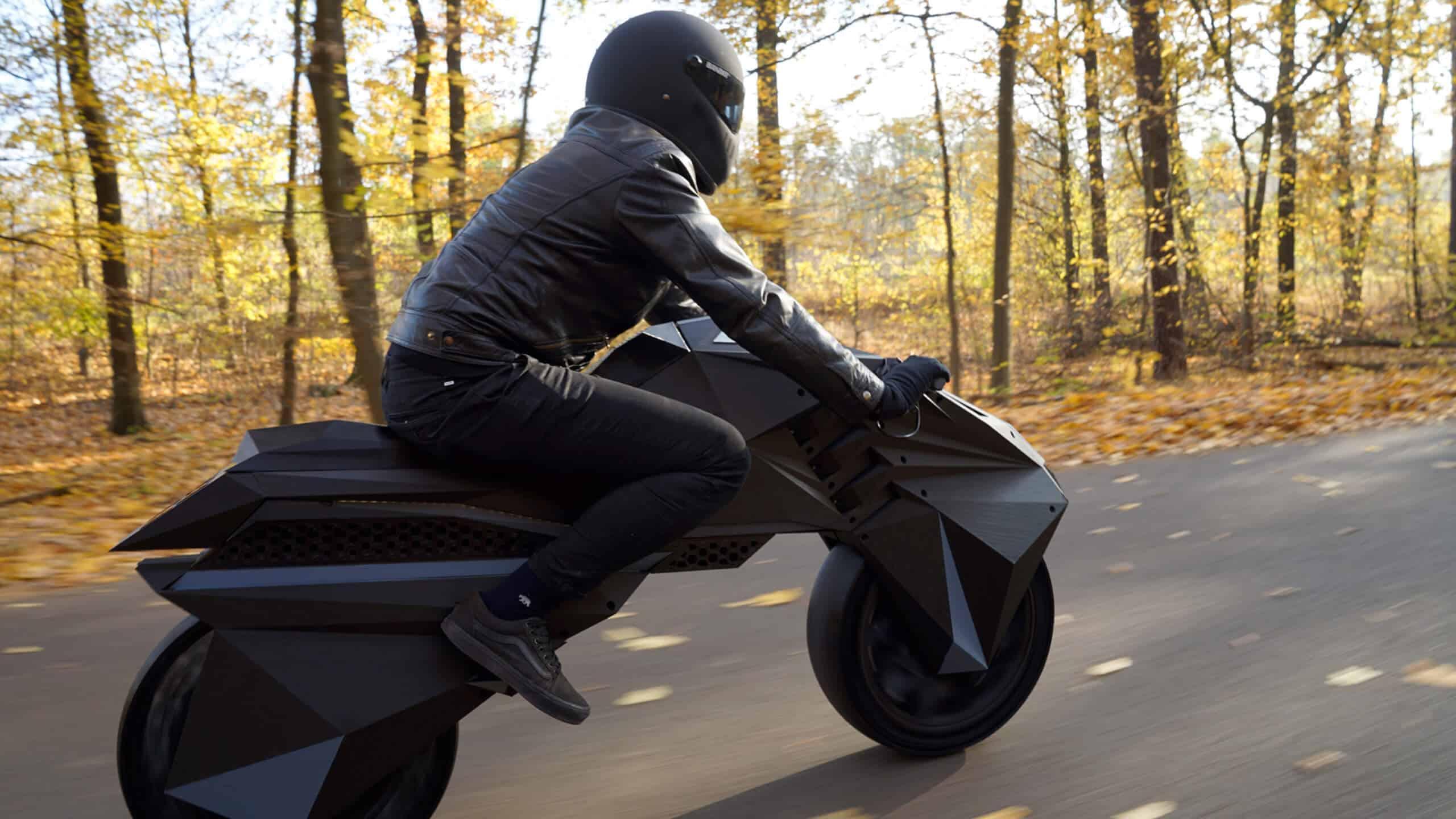 NERA - первый в мире электромотоцикл, созданный с помощью 3D-печати на крупноформатном 3D-принтере BigRep - фото 5