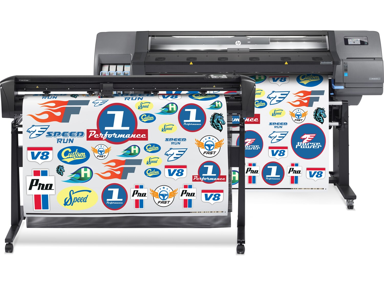Программно-аппаратный комплекс для широкоформатной печати и плоттерной резки HP Latex 315 Print and Cut Solution - фото 1