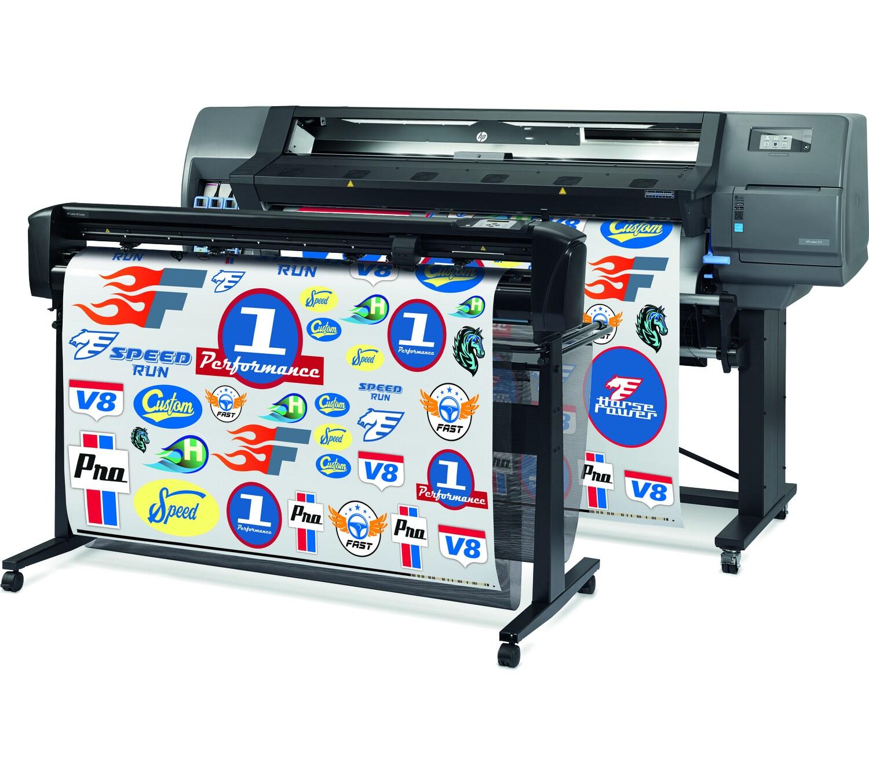 Программно-аппаратный комплекс для широкоформатной печати и плоттерной резки HP Latex 315 Print and Cut Solution - фото 2