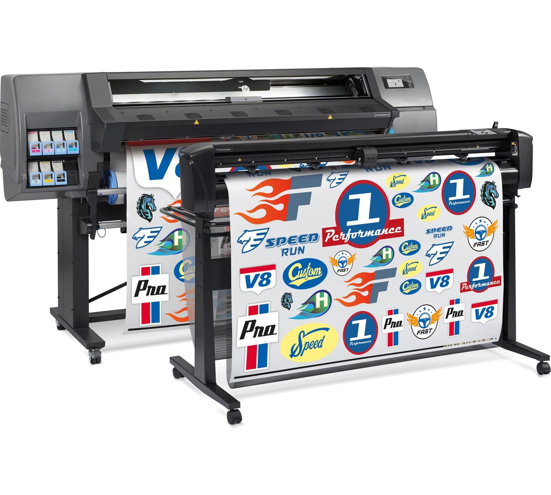 Программно-аппаратный комплекс для широкоформатной печати и плоттерной резки HP Latex 315 Print and Cut Solution - фото 3