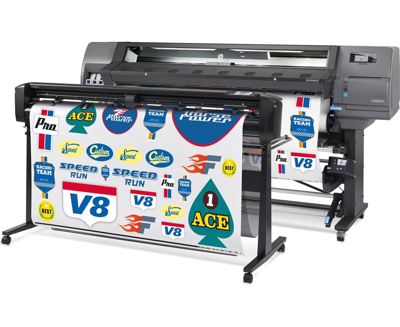 Программно-аппаратный комплекс для широкоформатной печати и плоттерной резкиHP Latex 335 Print and Cut Solution - фото 2