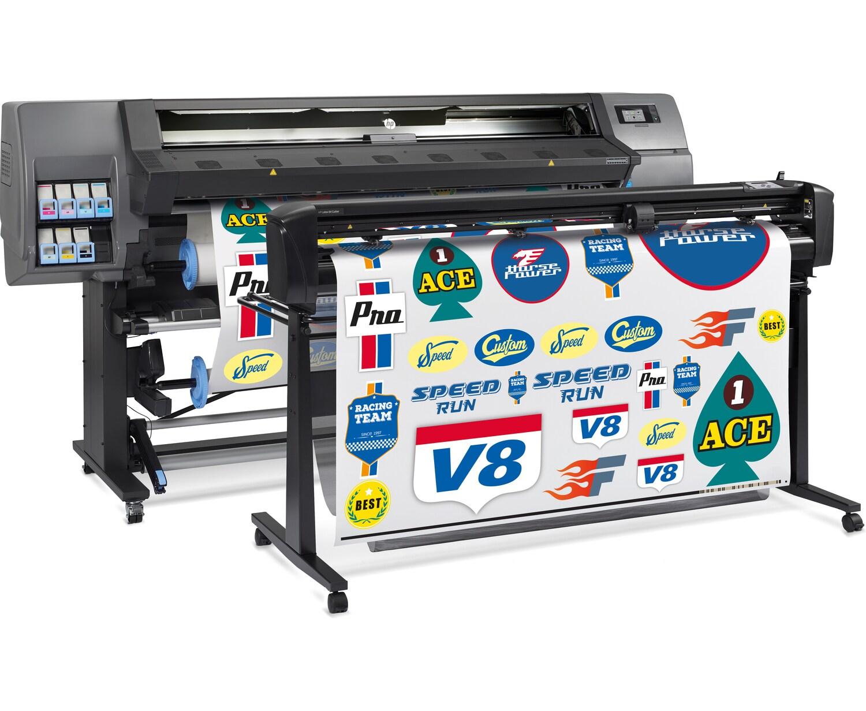Программно-аппаратный комплекс для широкоформатной печати и плоттерной резкиHP Latex 335 Print and Cut Solution - фото 3