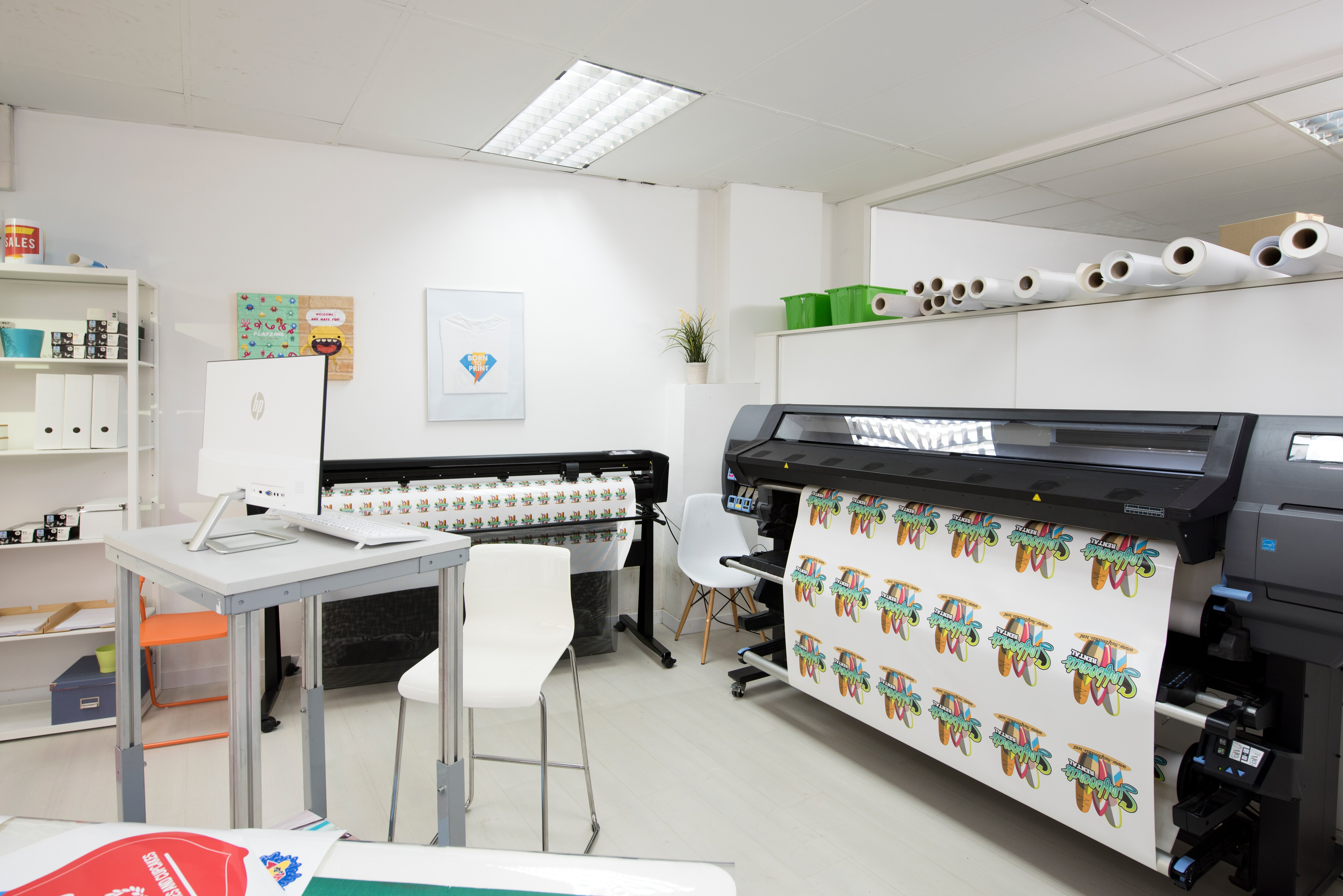 Программно-аппаратный комплекс для широкоформатной печати и плоттерной резкиHP Latex 335 Print and Cut Solution - фото 4