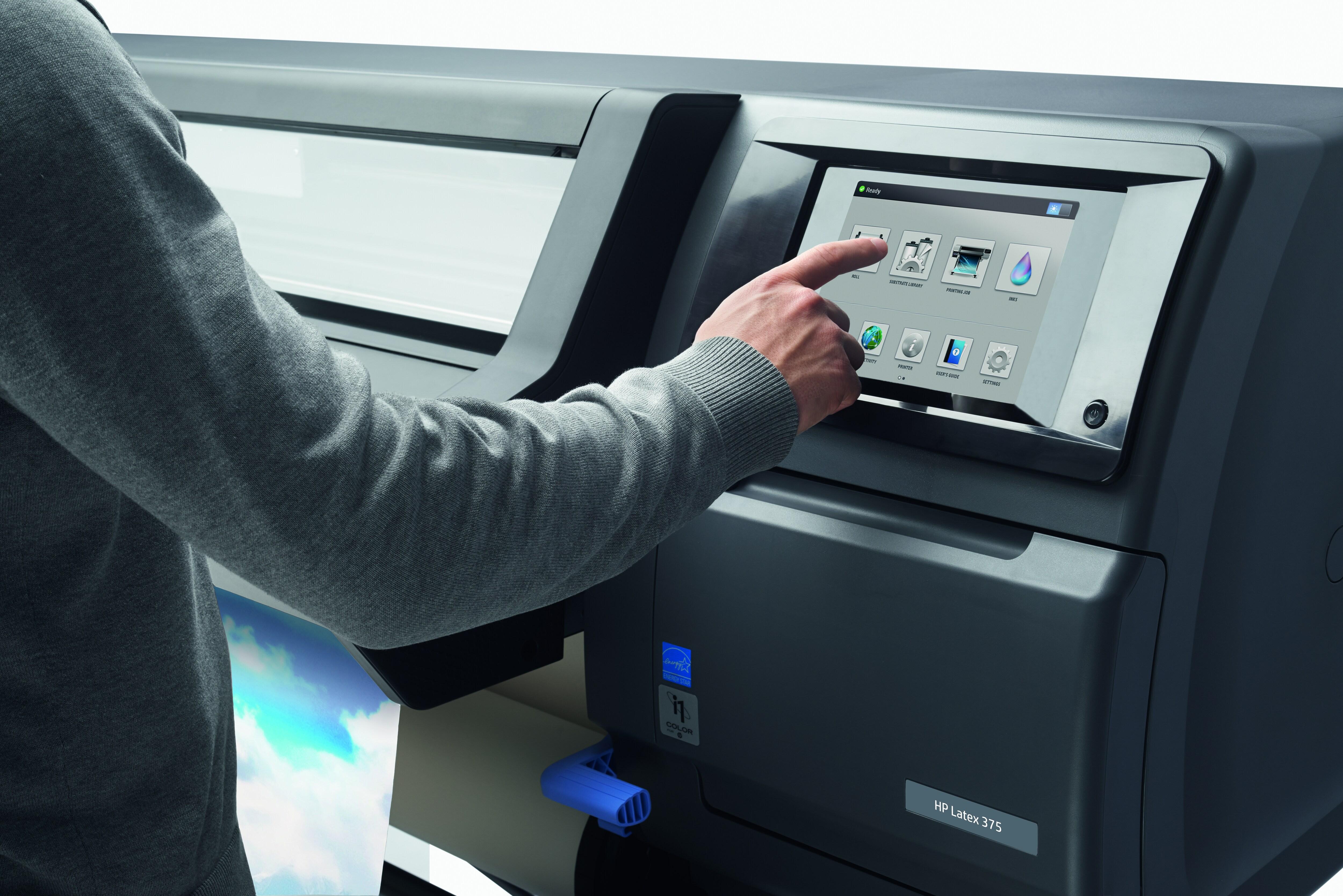 Широкоформатный латексный принтер HP Latex 375 - фото 8