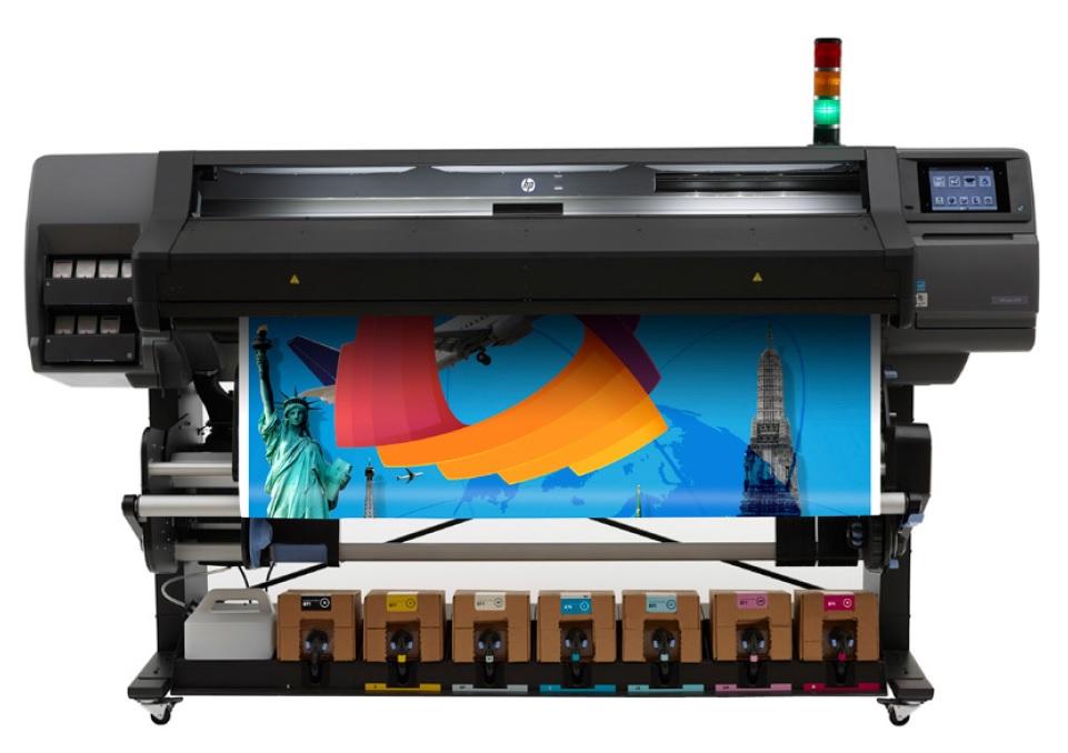 Широкоформатный латексный принтер HP Latex 570