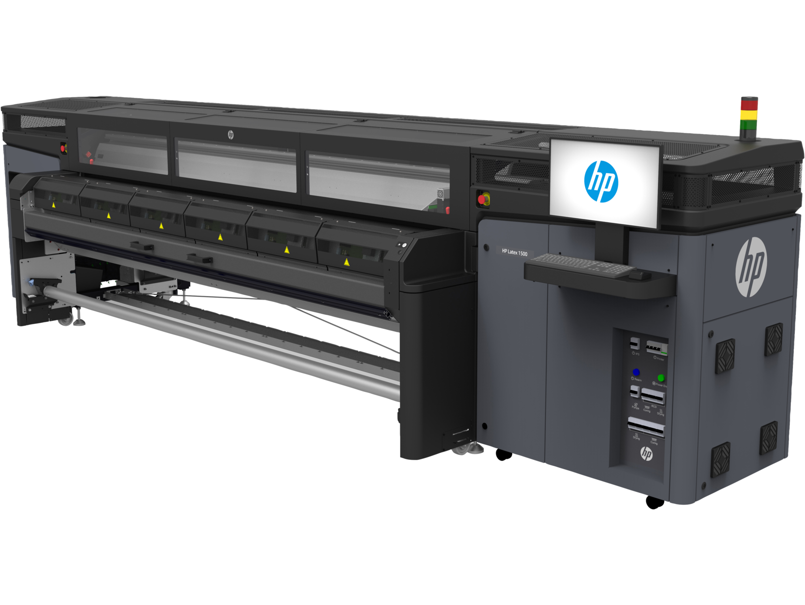 Широкоформатный промышленный латексный принтер HP Latex 1500 - фото 2