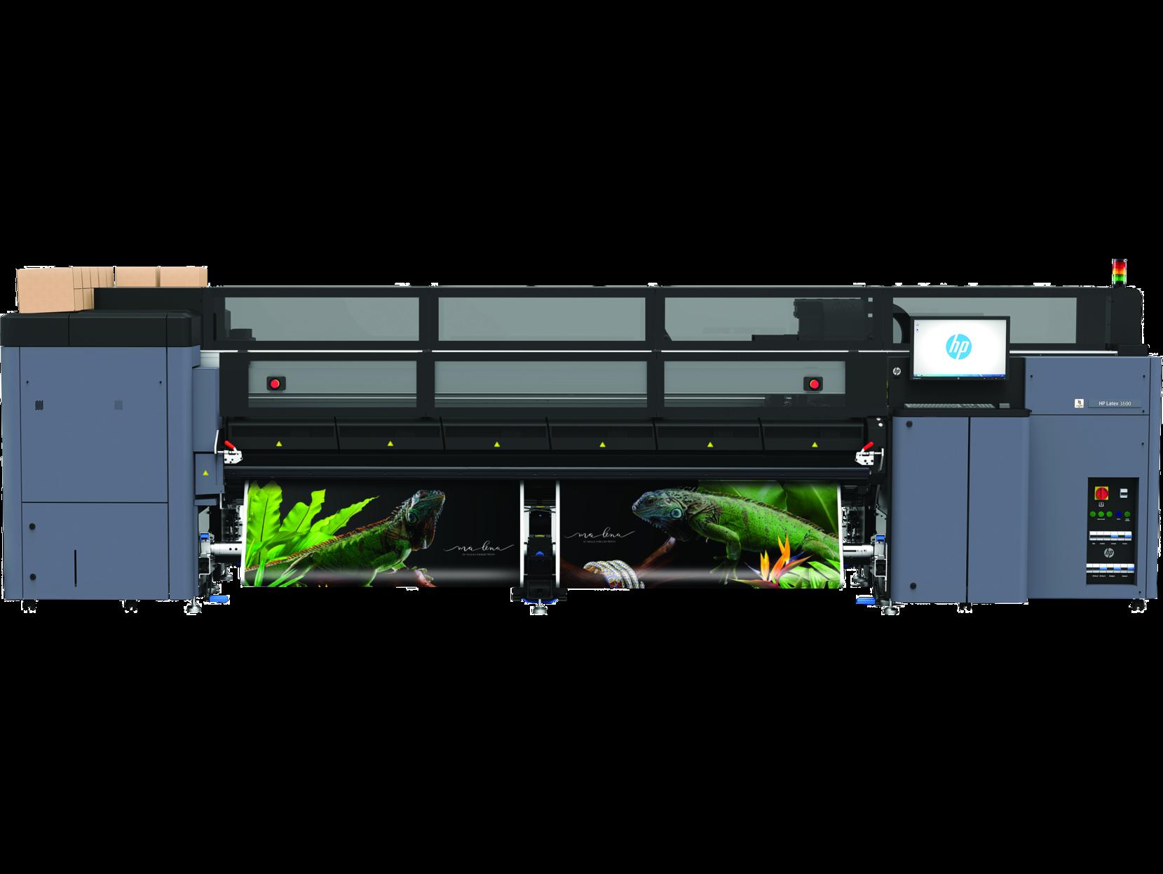 Широкоформатный промышленный латексный принтер HP Latex 3600 - фото 1