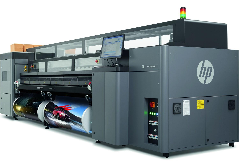 Широкоформатный промышленный латексный принтер HP Latex 3600 - фото 4