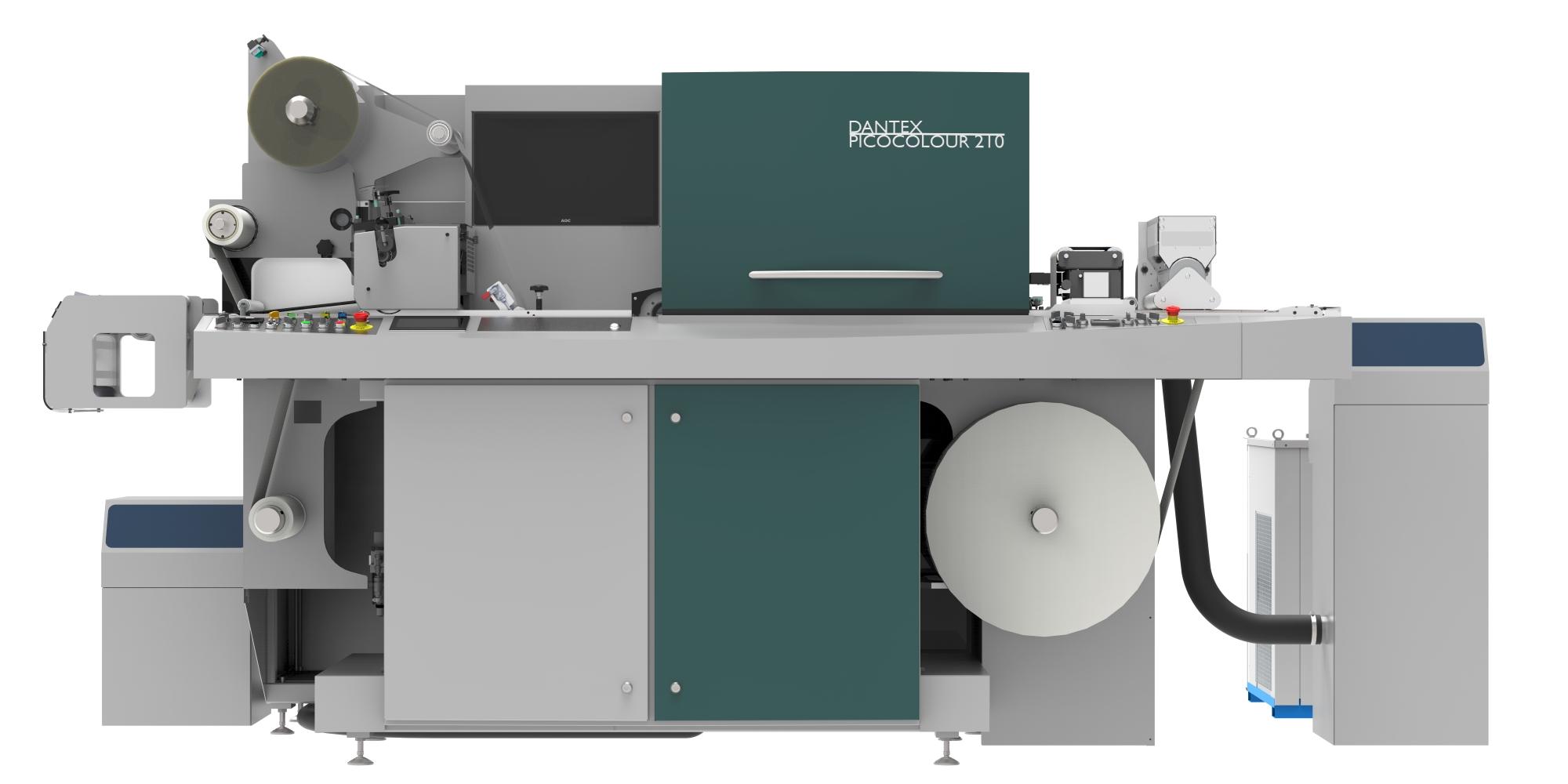 Цифровая печатная машина Dantex PicoColour
