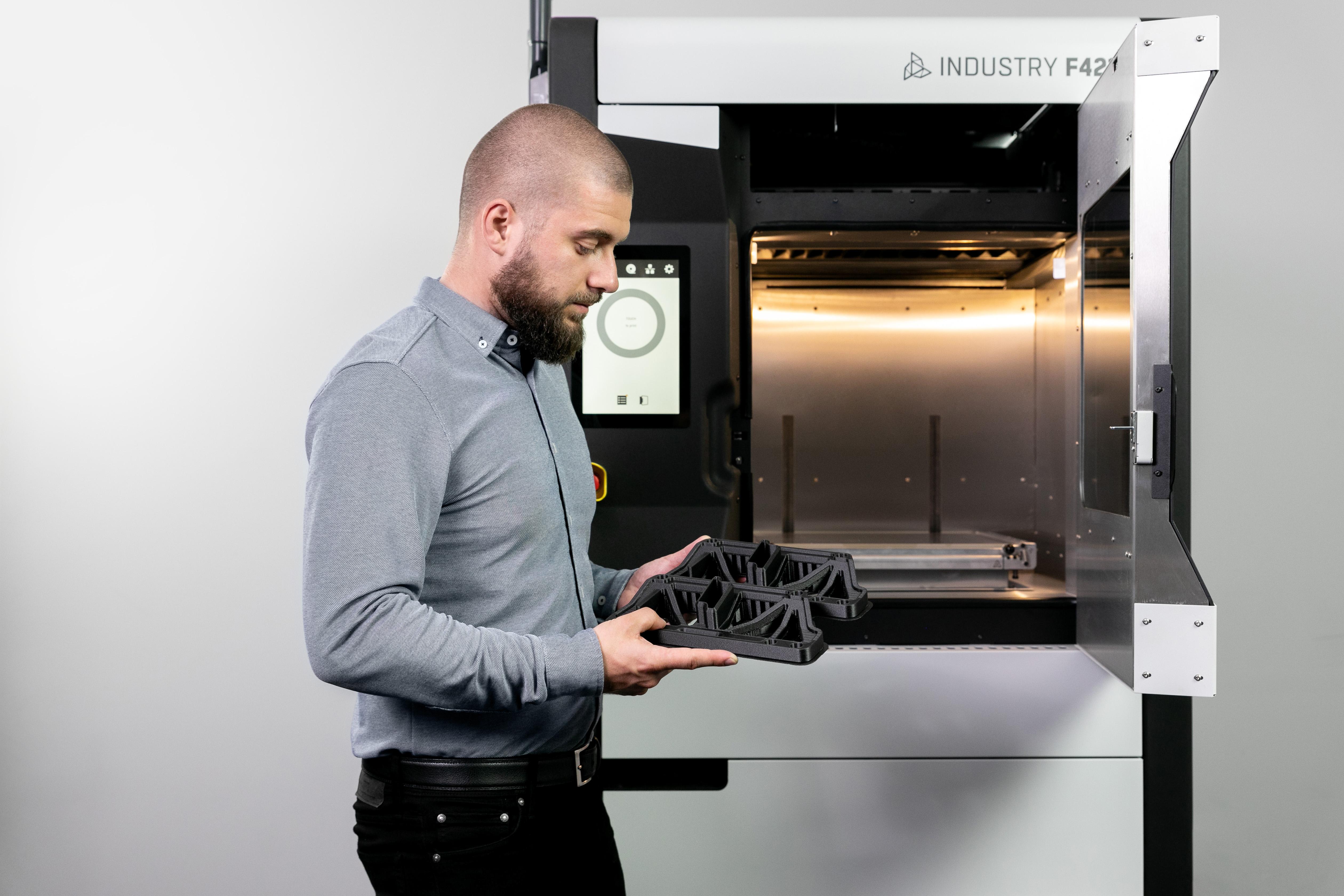 Профессиональный 3D-принтер 3DGence INDUSTRY F421 - фото 7