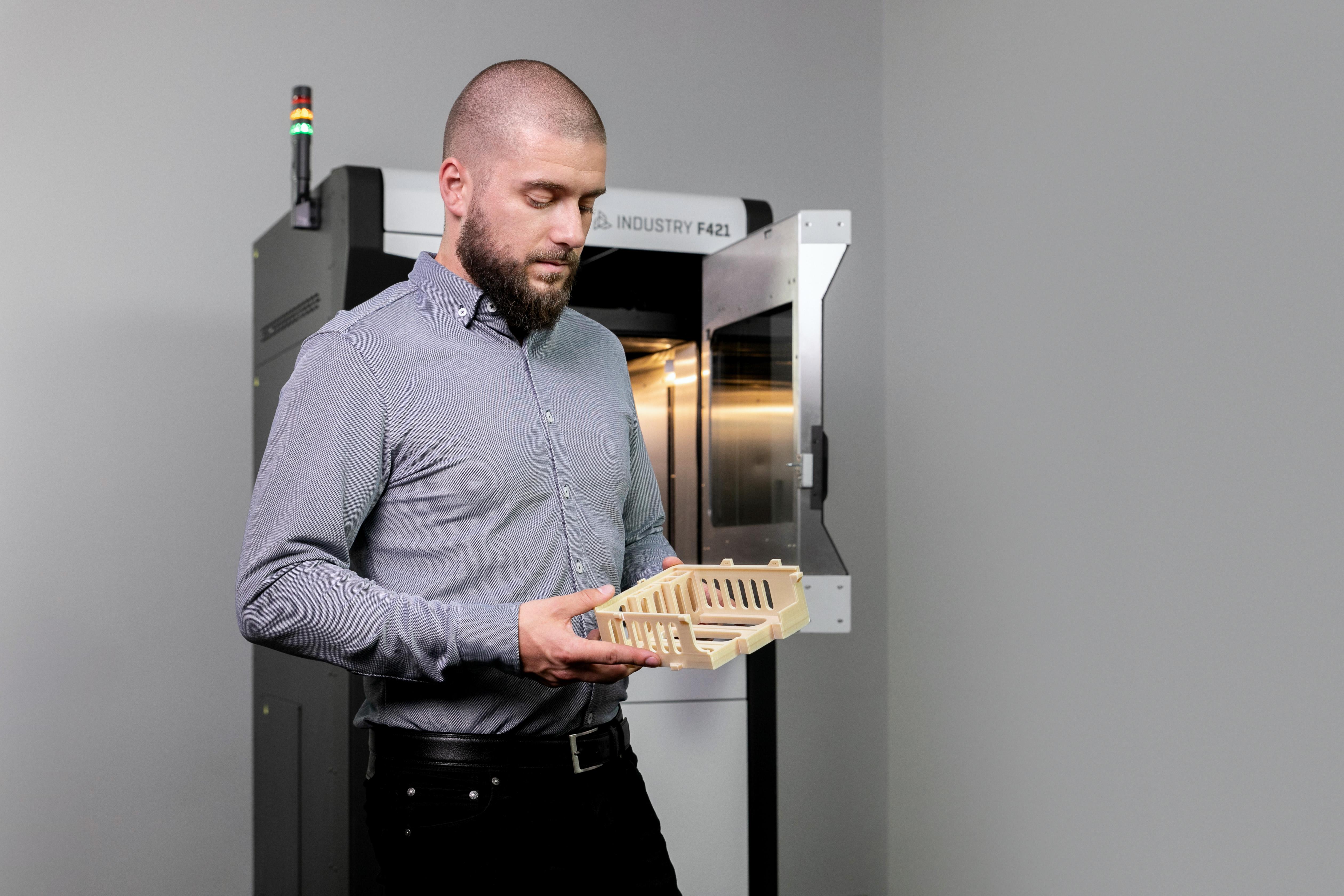 Профессиональный 3D-принтер 3DGence INDUSTRY F421 - фото 6