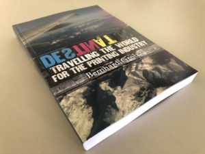 Книга Бернхарда Гроба «DESTINATION — Travelling the world for the printing industry»